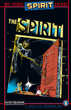 SPIRIT ARCHIVE #1 VZA deutsch LUXUS-HC TT lim.200 Ex+signed Artprint WILL EISNER