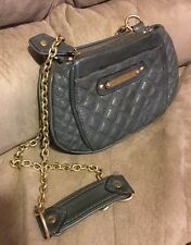Juicy Couture Army Green Leather Small Crossbody/Shoulder Bag