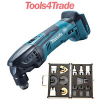 Makita DTM50Z LXT 18V Li-Ion Oscillating Multitool Cutter Body + 13 Extra Blades