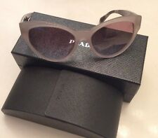 PRADA SPR 08S UFH 4S2 Sunglasses Ladies With Case And Box