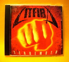 CD Litfiba Terremoto 9 TR 1993 Pop Rock