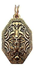WOTAN 24ct Pendant Amulet Vintage Antique Viking Jewelr