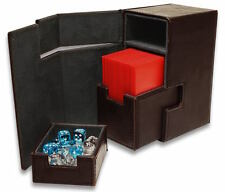 Leatherette Black Deck Locker LX Removable Deck and Dice Trays  Command Tower!