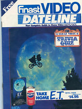 Finast Video Dateline Magazine E.T. Cover September-October 1988