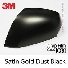 10x20cm FILM Satin Gold Dust Black 3M 1080 SP242 Vinyle COVERING New Series Wrap