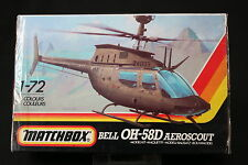 YN131 MATCHBOX 1/72 maquette helicoptere PK-43 Bell OH-58D Aeroscout