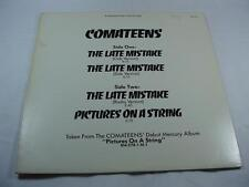 "Comateens - The Late Mistake - 12"" Single  Promo Copy - Free Shipping"