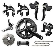 Shimano 105 5800 2 x 11 Speed 50/34T 172.5mm 11-28T Bike Groupset Build kits