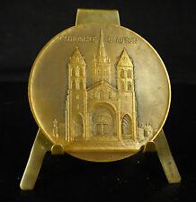 Médaille Cathédrale Saint-Lazare d'Autun par Desvignes Chalon Mâcon 50 mm Medal