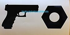 Gun Nut Car Decal Truck Motorcycle Gun Safe Locker AR15 AK47 9mm Window Sticker