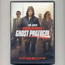 Mission Impossible Ghost Protocol 2011 PG-13 action spy movie DVD Tom Cruise