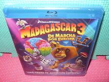 MADAGASCAR 3   - BLU-RAY - PRECINTADA