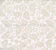 Grey Taupe Floral Flower Leaf Vinyl Contact Paper Shelf Drawer Liner Peel Stick