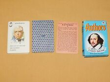 VINTAGE WHITMAN AUTHORS CARD GAME