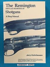 The Remington M870/M1100 Shotguns A Shop Manual by Jerry Kuhnhausen Book NEW