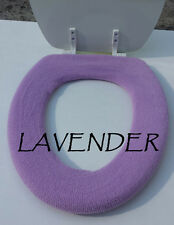Bathroom Toilet Seat Warmer Cover  Washable - Lavender Purple - LifeLong Needs