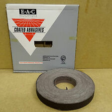 ENGLISH ABRASIVES ALUMINIUM OXIDE CLOTH SANDING COIL ROLL 25MM x 50M  120G