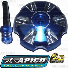 Apico Blue Alloy Fuel Cap Breather Pipe For KTM SX 125 2013 Motocross Enduro