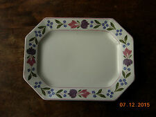 """Adams Old Colonial serving platter 9"""" x 12"""" plate"""