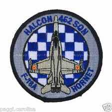 Patch N46 Spanish Air Force - Halcon 462 Sqn - F18 A Hornet Toppa senza velcro