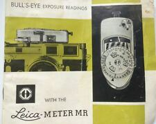 Leica meter mr instruction manual