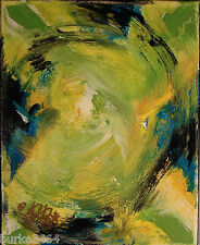 Modernist Abstract Wall Art Canvas Acrylic Painting SPIN TO WIN Original FOLTZ