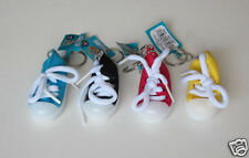 12 Canvas Sneaker Shoe Key Chain Kid Party Goody Loot Bag Filler Favor Supply