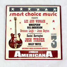 NEU World Of Americana - Lee Ann Womack, Josh Turner, Billy Yates - musik cd ep