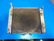 CAN AM RENEGADE 800R 2010 RADIATOR , USED , DAMAGE AS SHOWN IN PICT