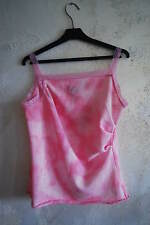 designer Kein Yuki LIZ LISA style pink ombre tie dye lace rim gyaru vivi top