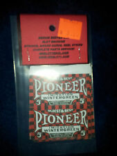 REPO MINT WRAPPERS FOR ANTIQUE SLOT MACHINE MW#12 PIONEER RED 10 PACK