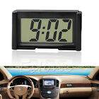 Car Auto Interior Dashboard Desk LCD Screen Digital Clock Self-Adhesive Bracket