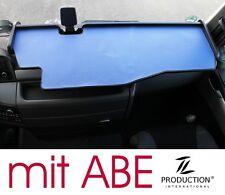 LKW Tisch Ablage + ABE passend für MAN TGX XXL XLX XL, Ablagetisch schwarz-blau