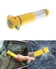 Portable 4 in 1 Multi-functional Flashlight Car Emergency Rescue Tool Kit New
