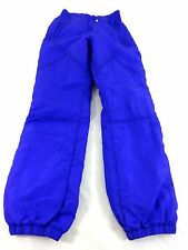 NILS WOMENS FULLY LINED PURPLE POLYESTER NYLON BLEND ATHLETIC SKI PANTS SIZE 10