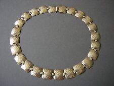 Antike Art Deco WMF Ikora Collier Kette versilbert 20/30er Jahre 32,0 g/42 cm
