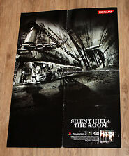 Silent Hill 4 The Room very rare Promo Poster 59x42cm Playstation 2 Xbox Konami