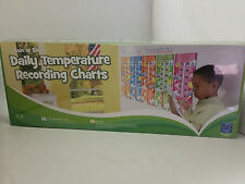 Educational Insights Rain or Shine Daily Temperature Recording Charts For Kids