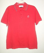 VERSACE Collection Men's Cotton Golf Short Sleeve Polo Tee T-Shirt sz L NEW