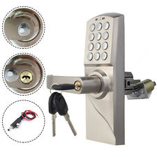 NEW Digital Electronic/Code Keyless Keypad Security Entry Door Lock Left Handle