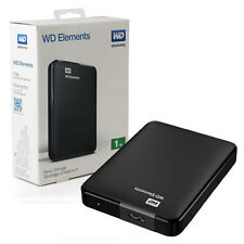500GB Mobile Hard Drive Hard Disks Micro B Storage Stable Devices Portable Black