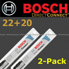 BOSCH 22+20 inch - DIRECT FIT - 40522, 40520 WINDSHIELD WIPERS FRONT LEFT+RIGHT