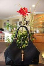 Gucci Large Black  Bardot Handbag hobo purse 124407