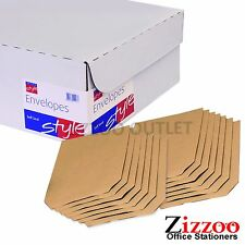 C4 ENVELOPES X 2500 - 90GSM MANILLA SELF-SEAL - GREAT PRODUCT + FREE P&P!