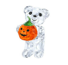 Swarovski Crystal Kris Bear - A Pumpkin for You Figurine 5223252