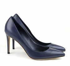 $635 GUCCI Point-Toe High Heel Leather 'Brooke' Pump #338723 ~ Sz 38 (US 8)