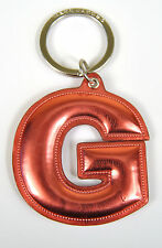 Marc by Marc Jacobs Alphabet Letter Initial Key Ring Chain Charm Holder Pink G