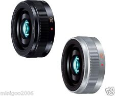 NEW PANASONIC LUMIX G 20mm F1.7 II ASPH H-H020A (H-H020AE) Lens*2 Colors*Offer