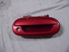 OEM 97 Ford Expedition Red Front Passenger's Side Exterior Door Handle w/Trim RH