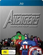 Marvel - The Avengers : Season 1 (Blu-ray, 2011, 4-Disc Set) Region B